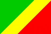 CONGO (R) (BRAZZAVILLE) - HAND WAVING FLAG (MEDIUM)